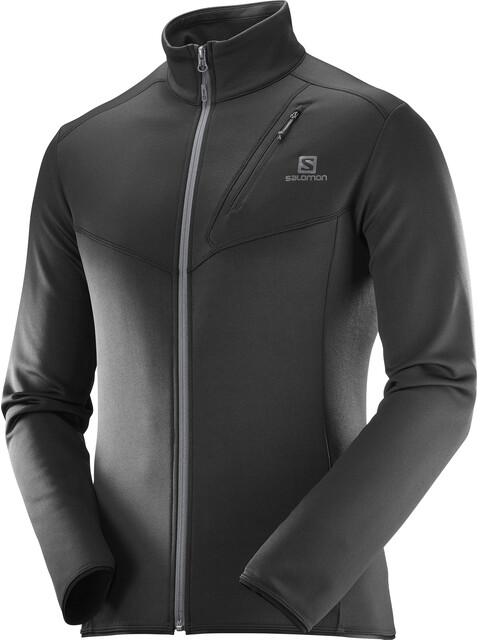 Salomon M's Discovery FZ Jacket Black